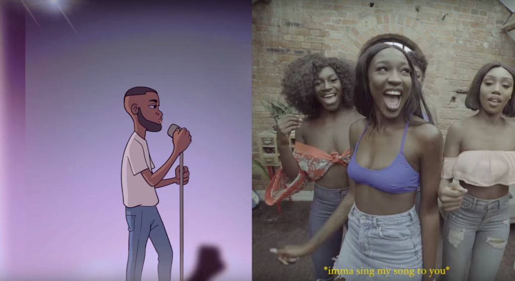 Afrobeat artist Juls shares the semi-animated video 'My Wave