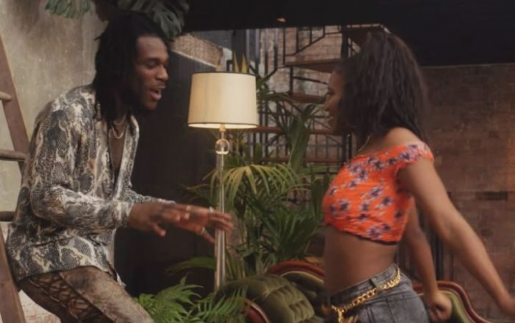 Burna Boy shows his romantic side on the new video for 'One